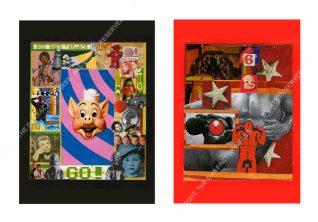 GO! & 6X3. 12 x 14 cm. 1994