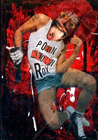PORN KLOWN ROX. 42 x 29 cm [A3]. 2001. 1/1
