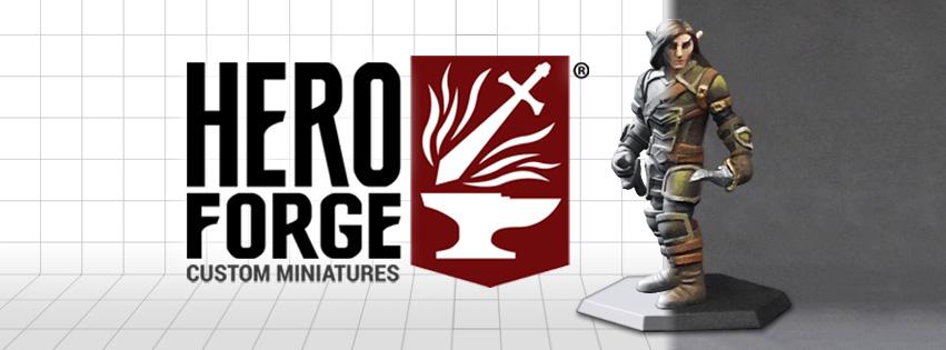 Heroforge – banner