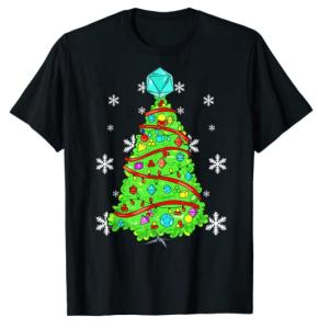 DnD Christmas Tree TShirt