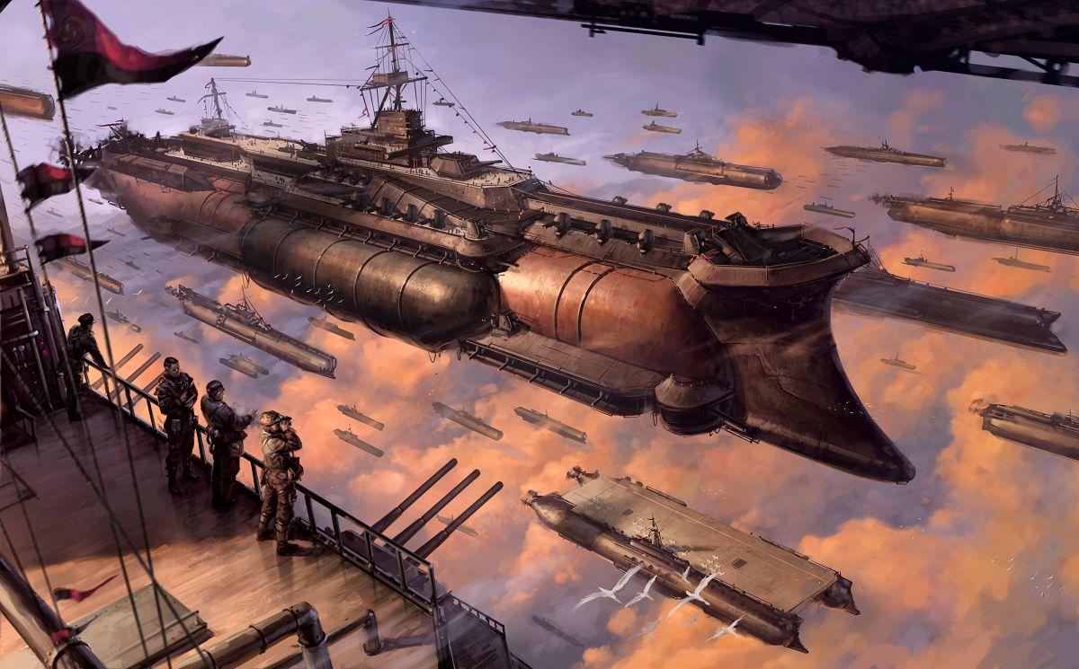 Airships, so many airships
