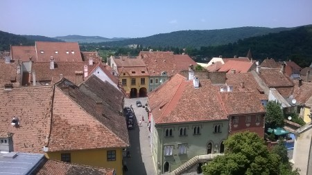 View from the Clock Tower.