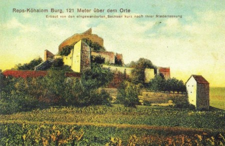German postcard depicting the citadel.