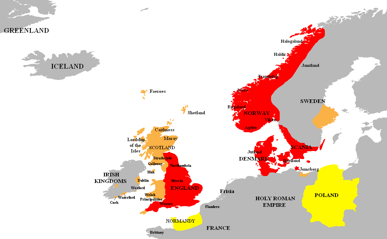 Map Of England 9th Century.A Brief History Of The Danish Vikings And Of The Danelaw