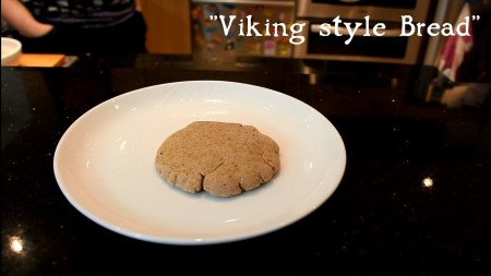 Viking style bread. Image source: www.youtube.com