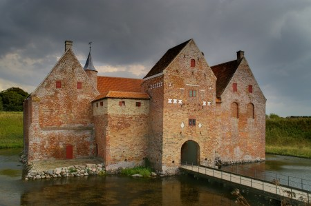 Spøttrup Castle in the municipality of Skive, northern Jutland, Denmark. Image source: www.commons.wikimedia.org