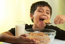 food industry marketing kids cereal