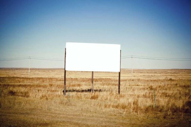 Billboard on a prairie 1698 x 1131