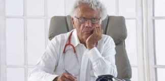 Frustrated physician (Photo from 123RF)