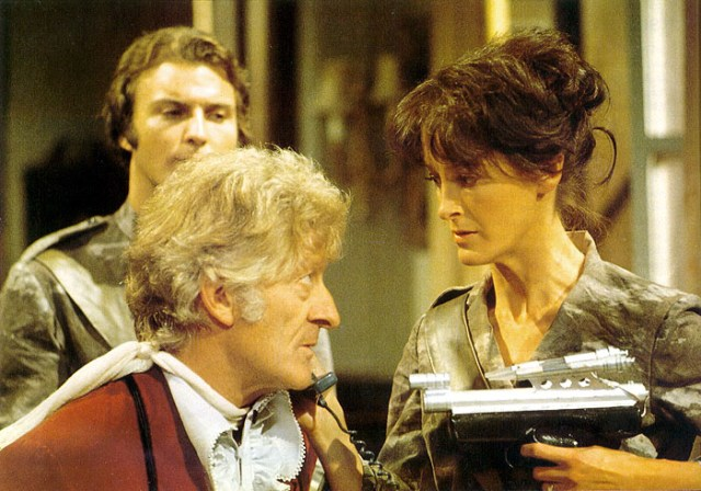 Day of the Daleks 3rd Third Doctor Jon Pertwee Anat