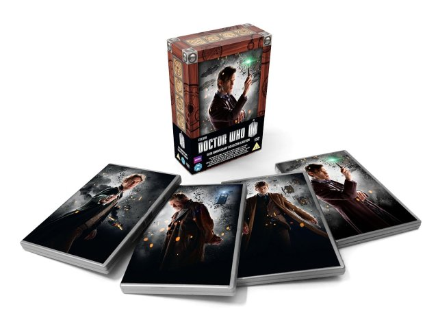 50th anniversary set 11th Eleventh Doctor
