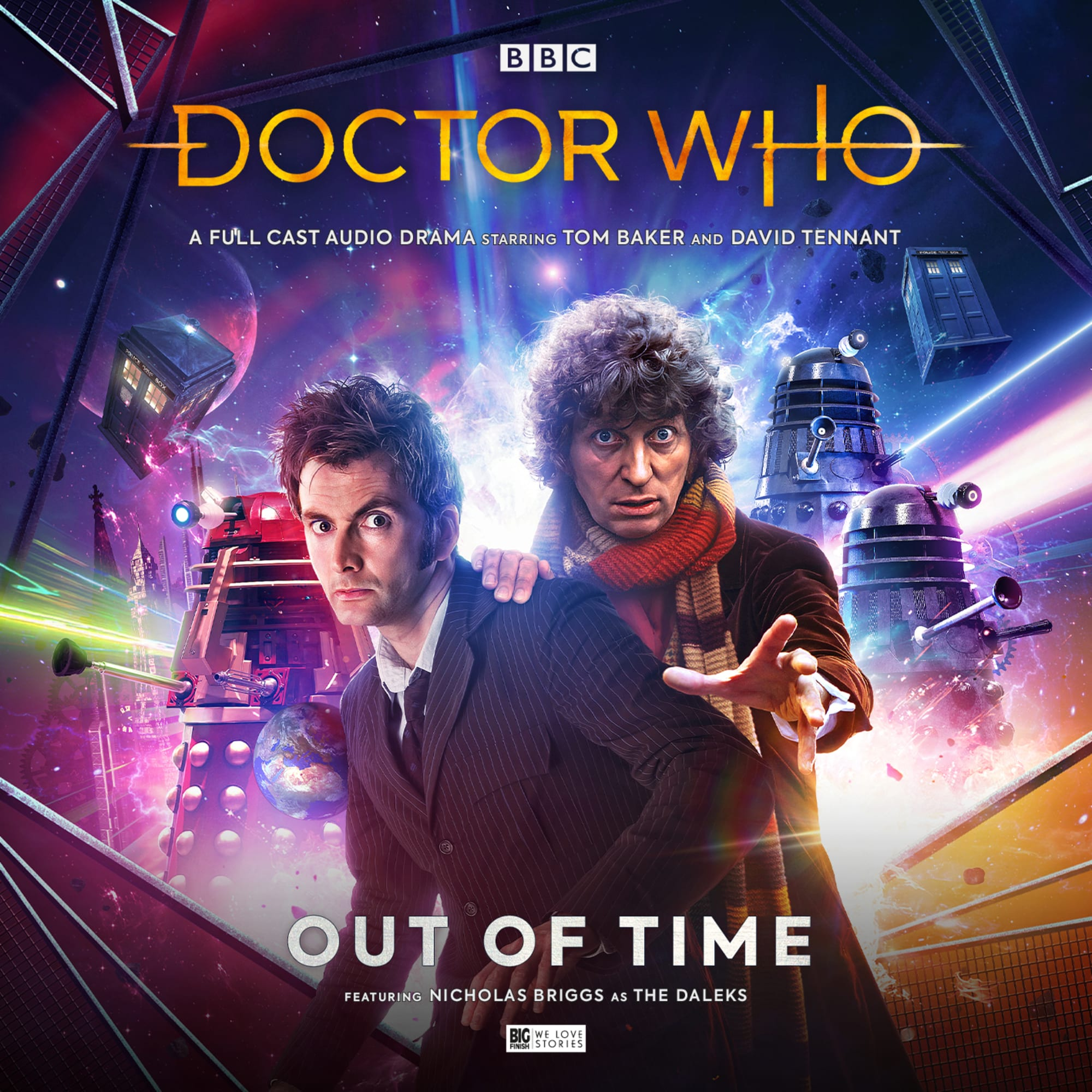 The Fourth and Tenth Doctors Unite in Big Finish's Out of Time