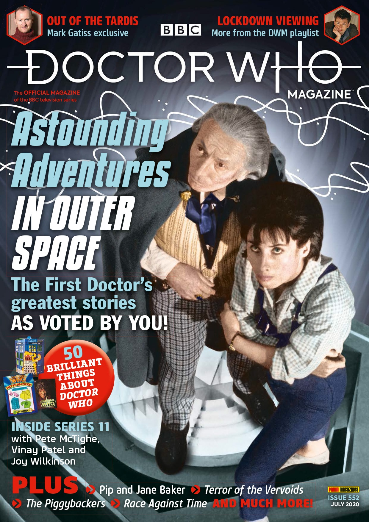 Out Now: Doctor Who Magazine #552