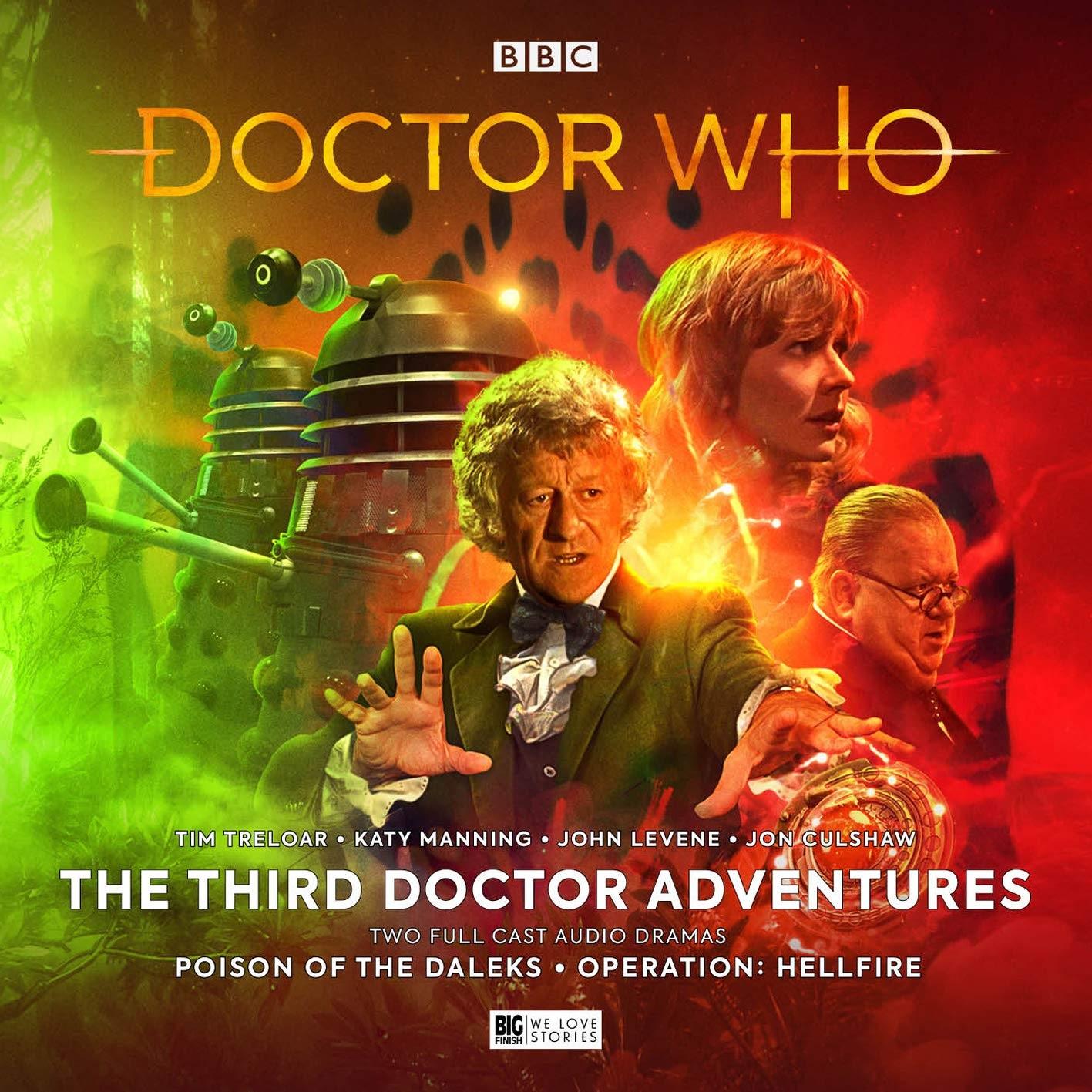 Reviewed: Big Finish's Third Doctor Adventures Volume 6