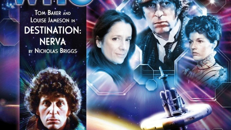 Free to Download Now: Big Finish's Destination Nerva With Tom Baker's Fourth Doctor