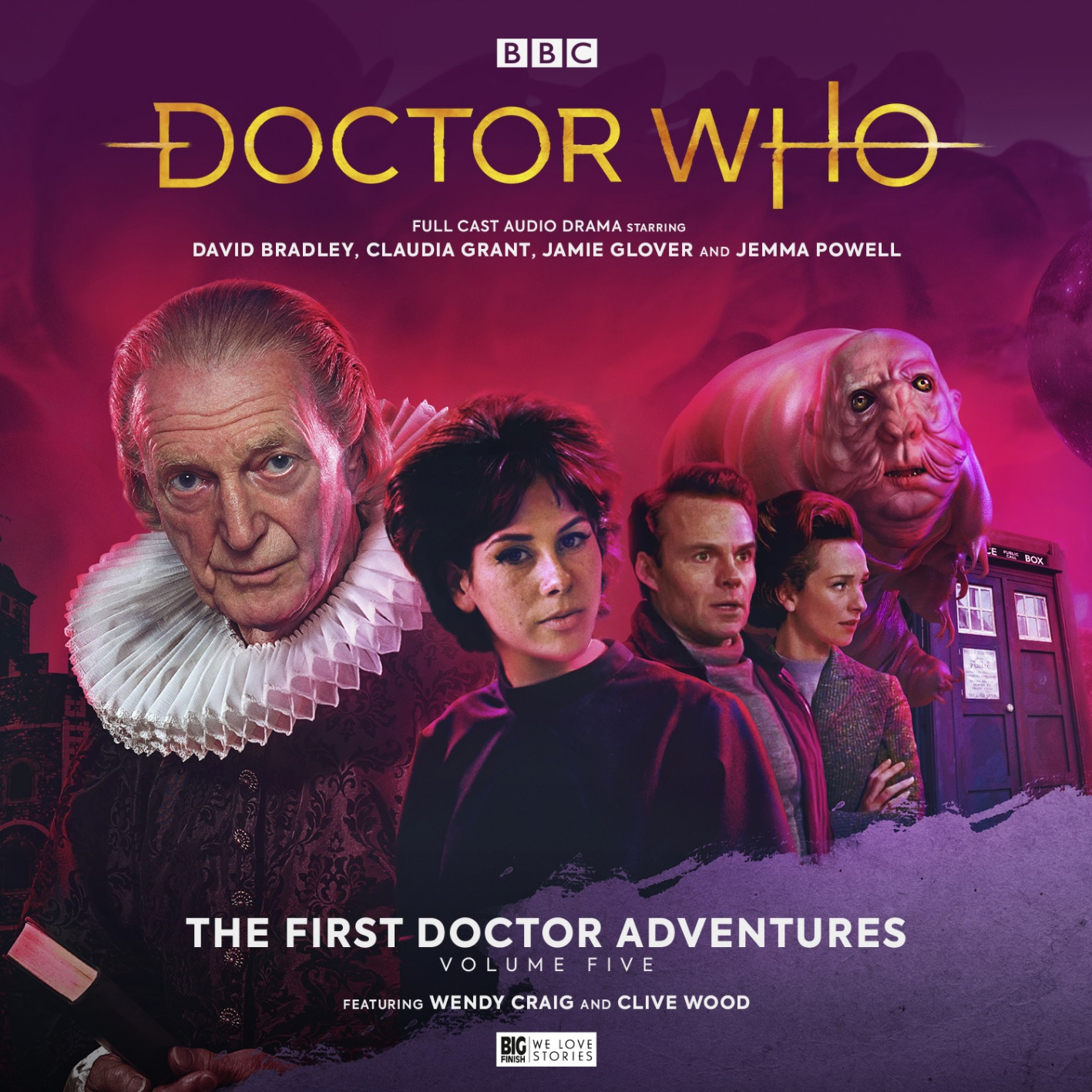 Wendy Craig to Star in Big Finish's First Doctor Adventures as Queen Elizabeth I