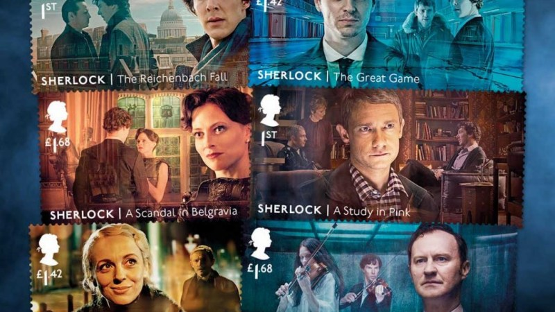 Royal Mail Reveal New Stamps to Celebrate 10 Years of Sherlock