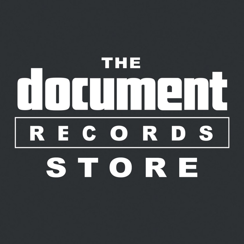 The Document Records Store Logo White SQUARED