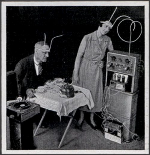 Will Powered Gramophone Modern Mechanix Nov  e