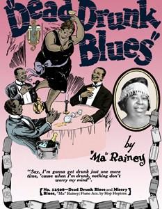 dead drunk blues poster