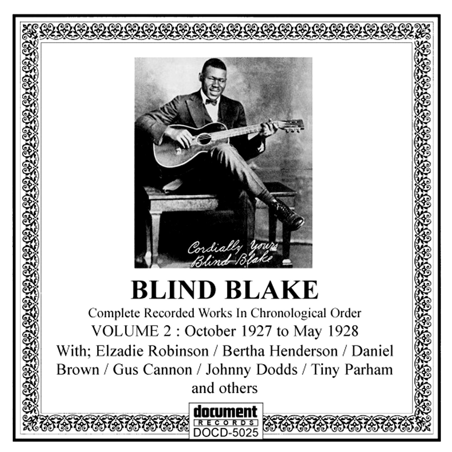 Blind Blake Vol 2 1927 1928 The Document Records Store