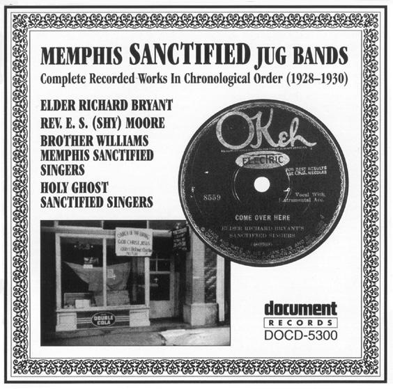 Memphis Sanctified Jug Bands 1928-1930 - The Document Records Store