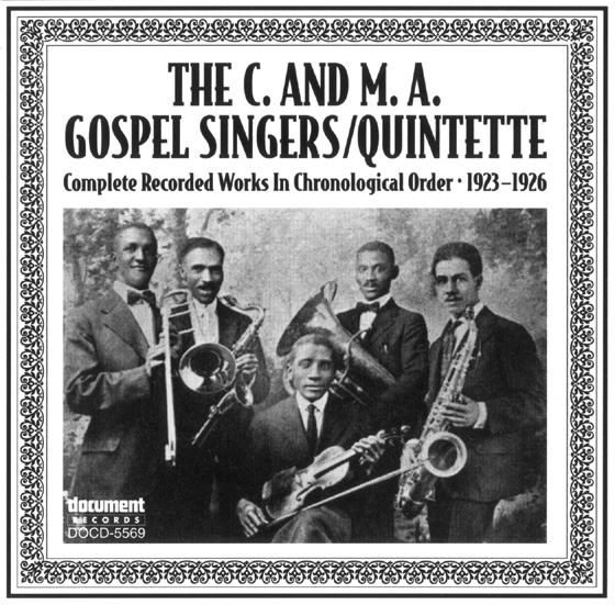 C & M A Gospel Singers - The Document Records Store