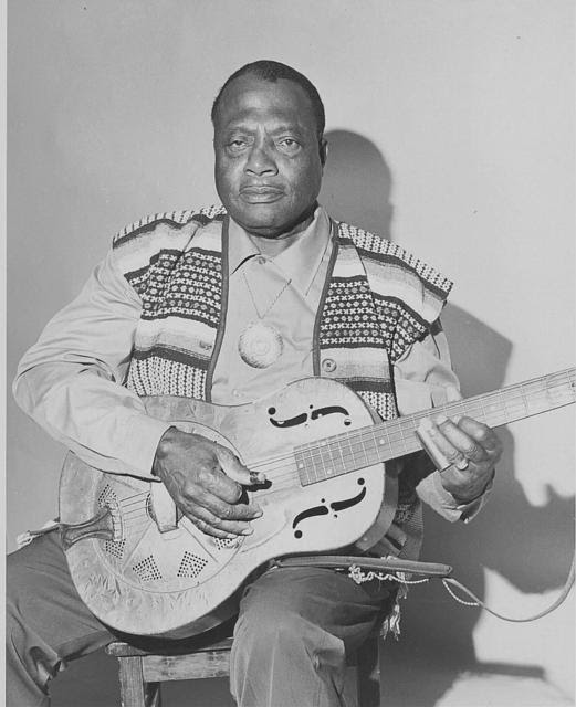 Bukka White, 1968 - Wayne T Helfrich