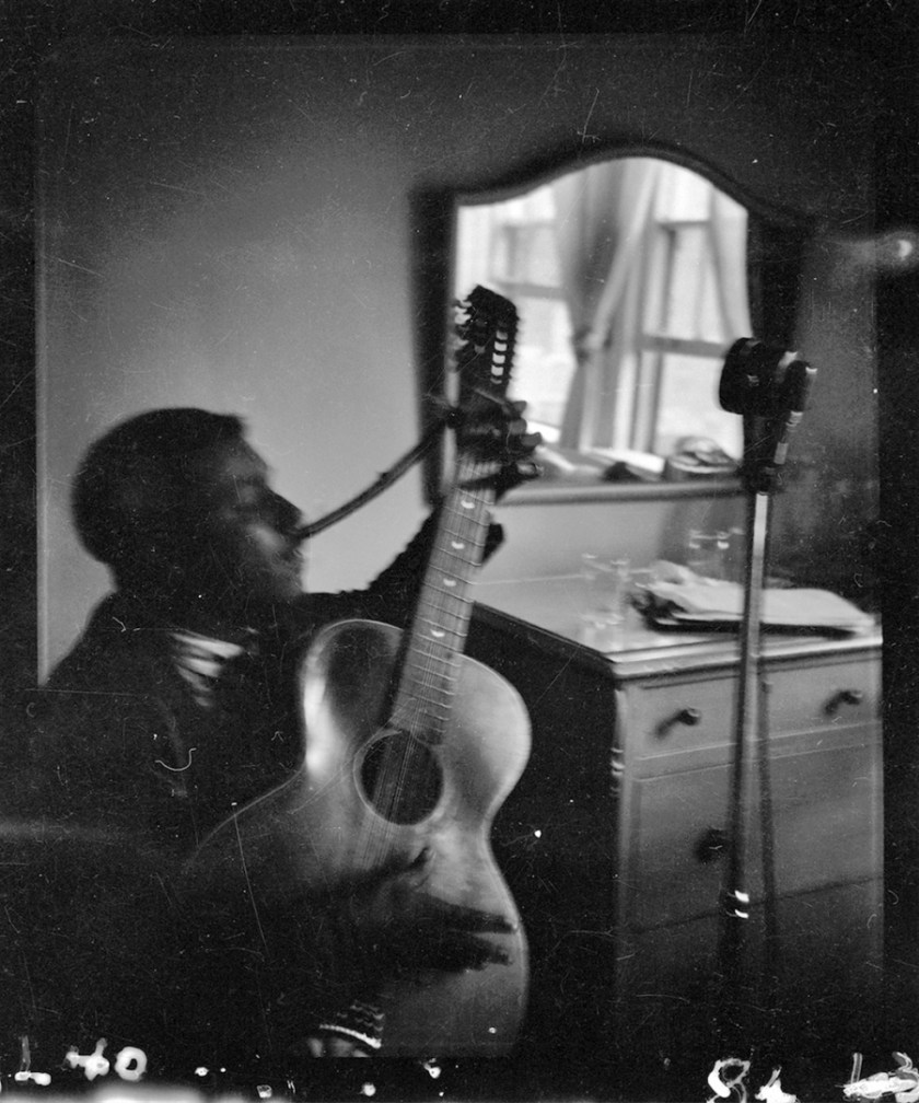 Blind Willie McTell recording for the Library of Congress