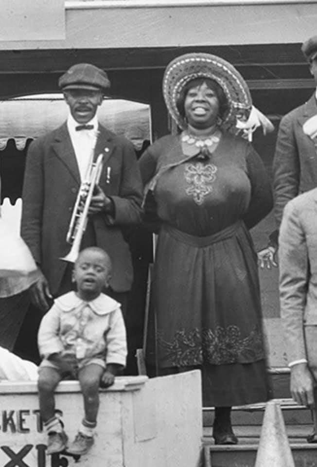 Newly discovered and as yet uncredited picture of Ma Rainey