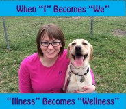 """This is my new Favorite quote. """"When 'I' becomes 'We'... 'Illness' becomes 'Wellness'"""""""