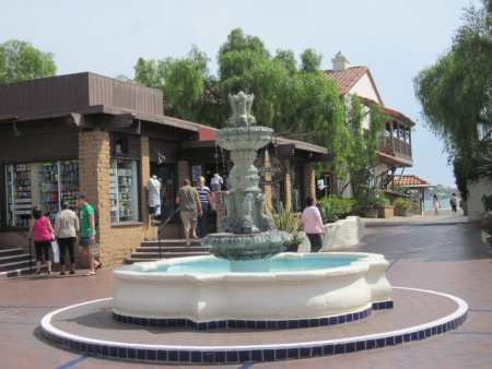seaport village fountain