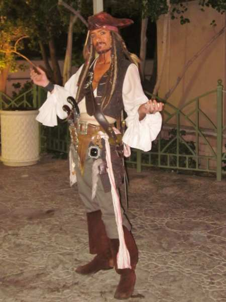Capt. Jack Sparrow look-a-like, Las Vegas