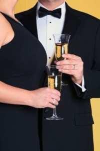 black tie couple