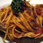 linguine & clam sauce