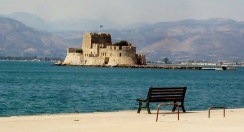 Bourtzi fortress, Nafplion