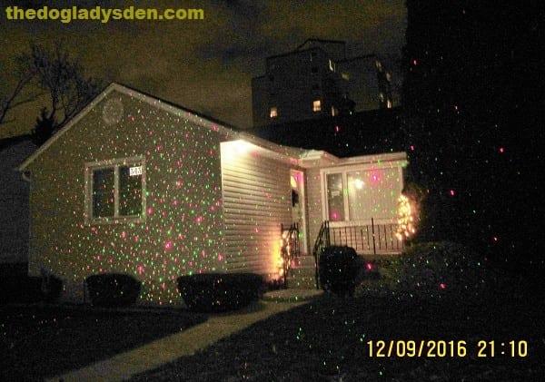 Laser lights: The Holiday Season