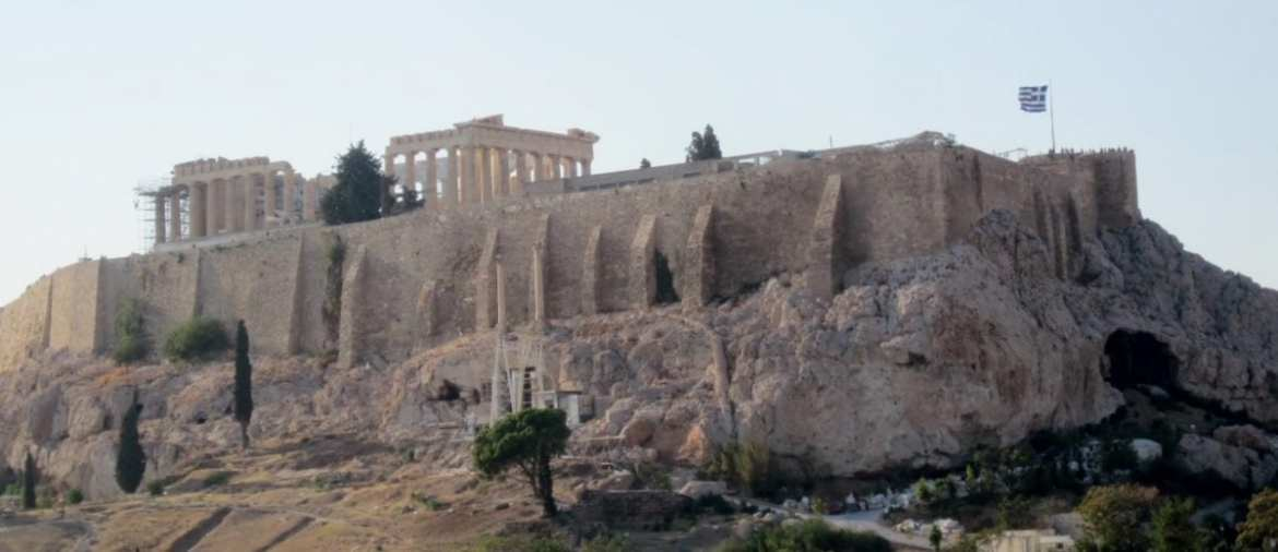 "#AtoZChallenge:  ""A"" is for ACROPOLIS in ATHENS"
