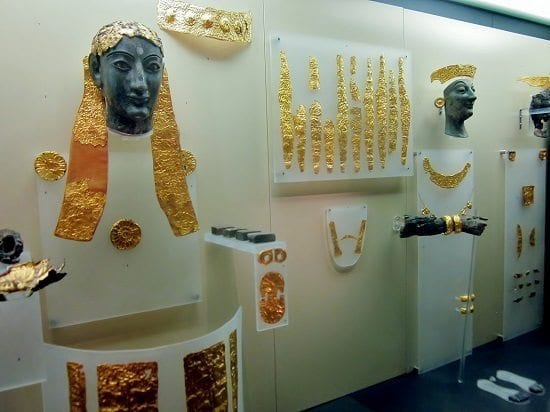 ancient gold at delphi