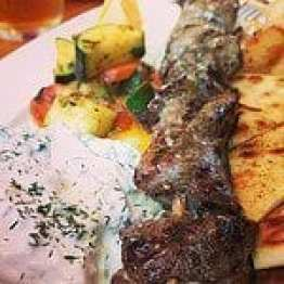 greek lamb dinner