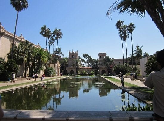 reflections, Balboa Park