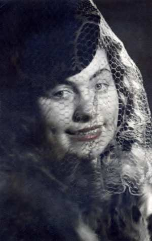 Portrait of mother 1945 Germany