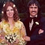Hubby and me on our wedding day