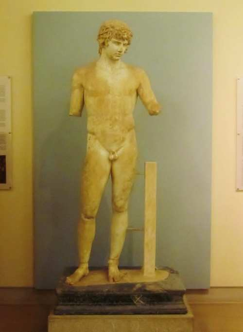Statue of Antinous, Delphi
