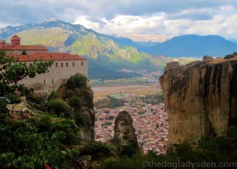 St. Stpehen's Monastery & Kalambaka, Meteora