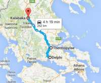 Delphi, Thermopylae and Kalambaka