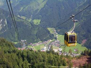 Penkenbahn Cable Car, Mayrhofen