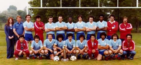 ♥ Winning soccer team, 1980♥