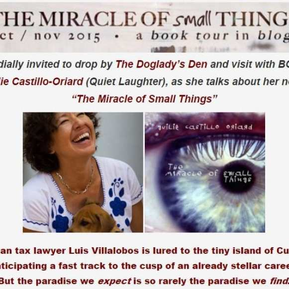 The Miracle of Small Things, Guilie Castillo-Oriard. 2015 Retrospective, The Doglady's Den