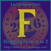 F is for Fox Terrier, #AtoZChallenge